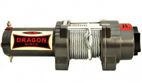 Лебедка для квадроцикла DWH 3 000 HD 1133 кг Стальной трос