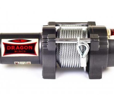Лебедка для квадроцикла DWH 4 500 HD / 2041 кг Стальной трос