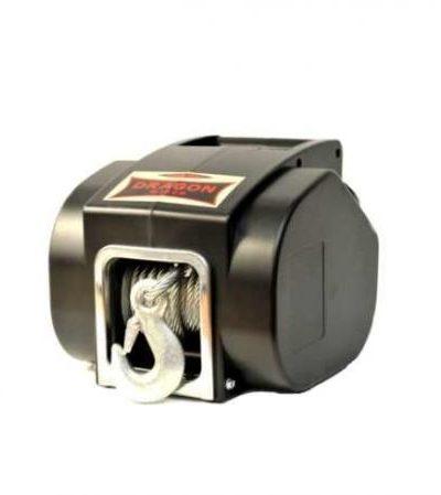 Лебедка DWP 5000 переносная 12V 5000 lb/ 2268 кг (трос стальной)